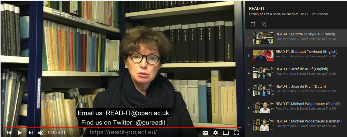 Have you seen our short 'meet the READ-IT team' films yet?