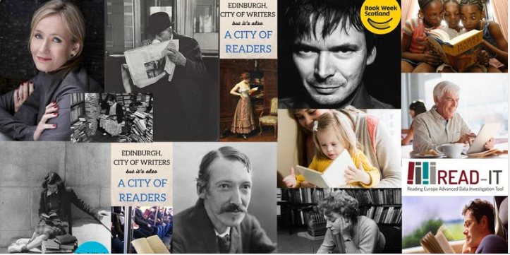 Contribute to READ-IT at 'Edinburgh: A City of Readers' (20.11.2019), a free Book Week Scotland event