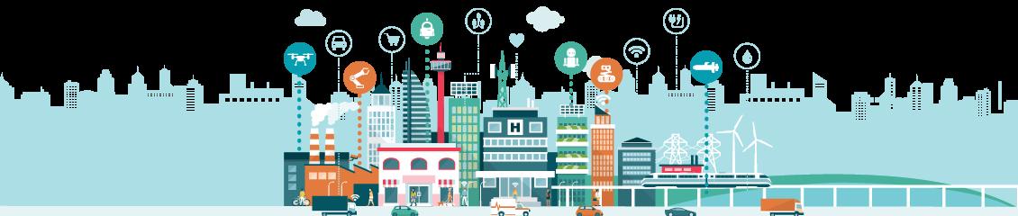 Smart Cities Robotics