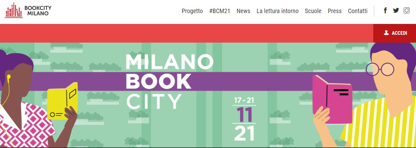 Event news: The Future and the Past of Reading (18.11.2021), Milano, Italy